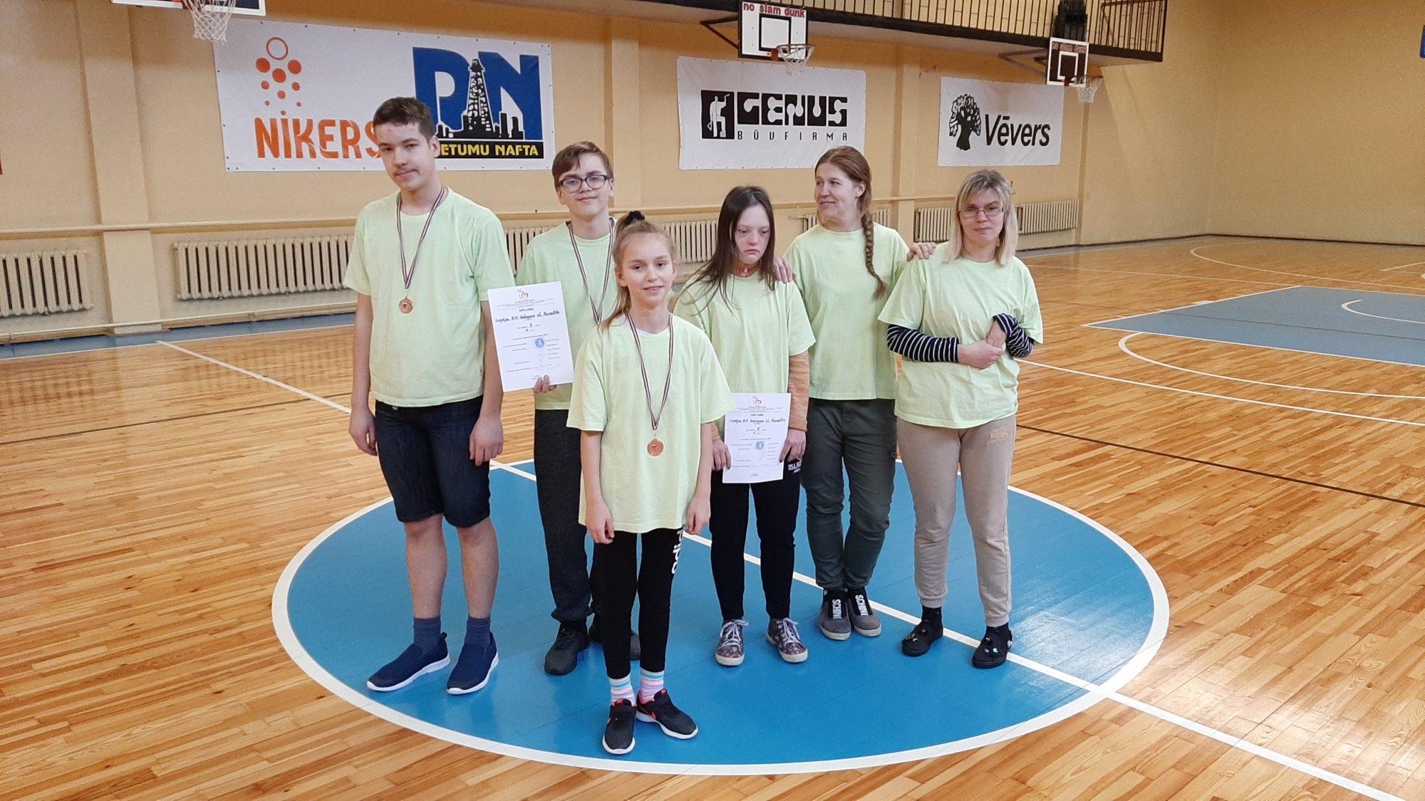 LBJC audzēkņi piedalās sporta spēlēs ''Kurzemes Boccia kauss 2020''