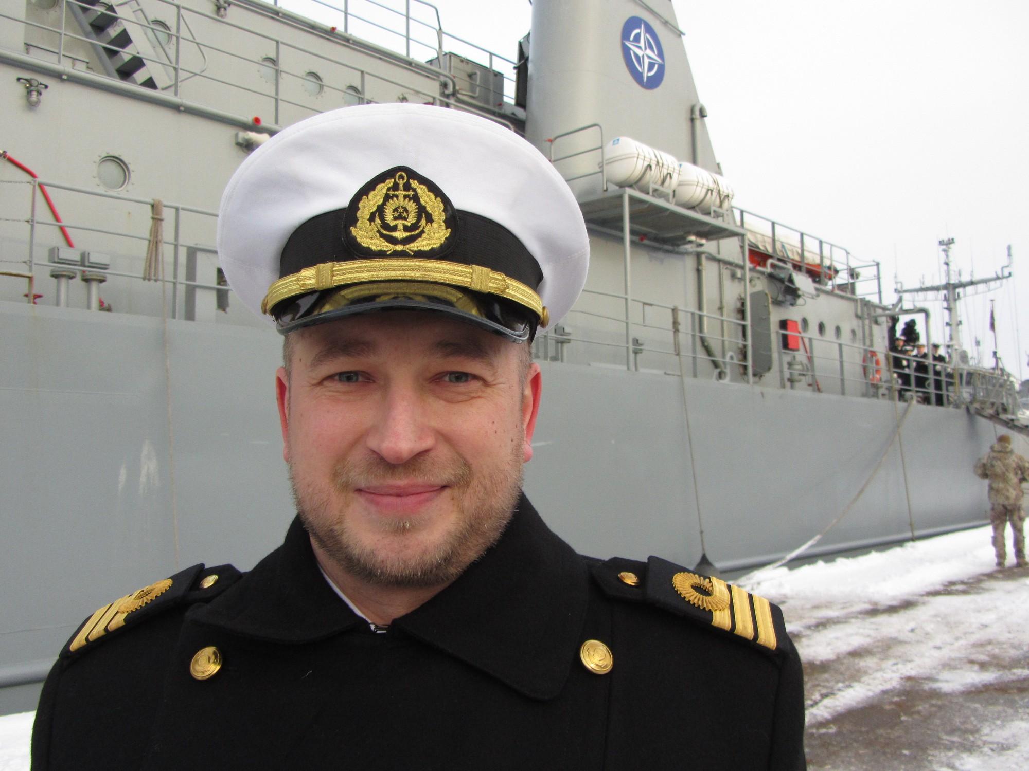 Notiks Jūras spēku Mīnu kuģu eskadras komandiera maiņas svinīgā ceremonija
