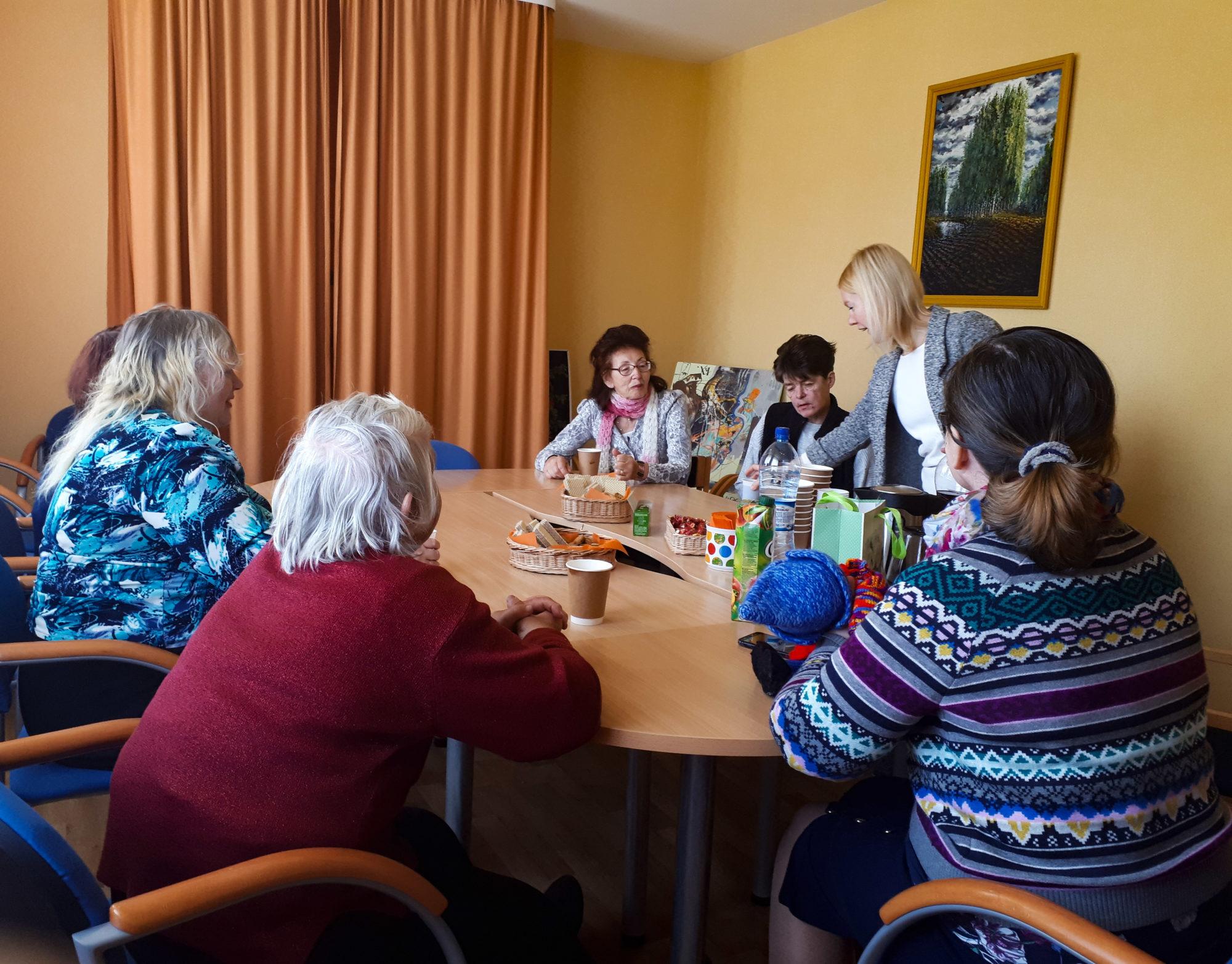 Liepājas Neredzīgo biedrība sāk sociālās iekļaušanas projektu invalīdiem un senioriem