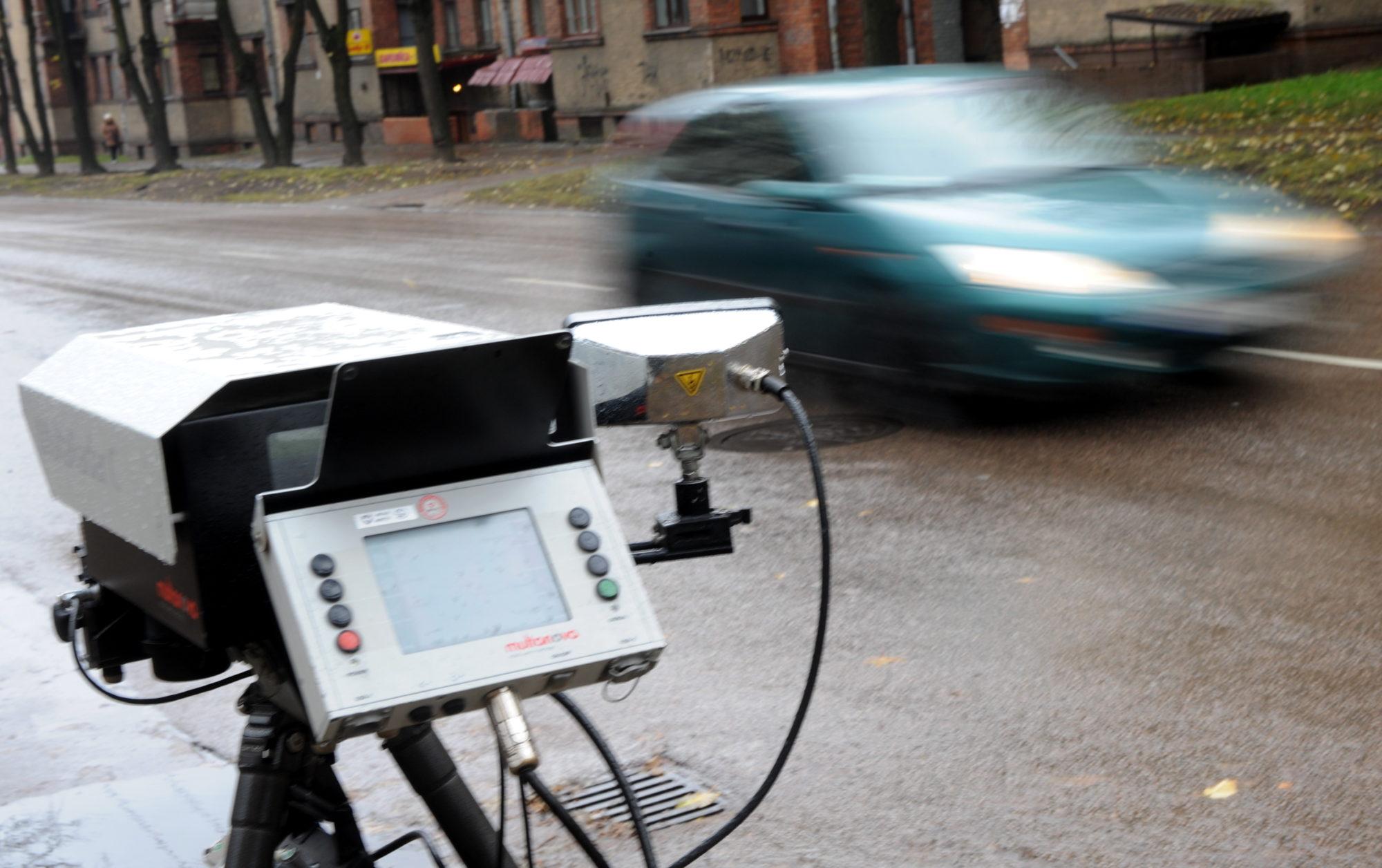 Šogad Latvijā nepalielinās fotoradaru skaitu