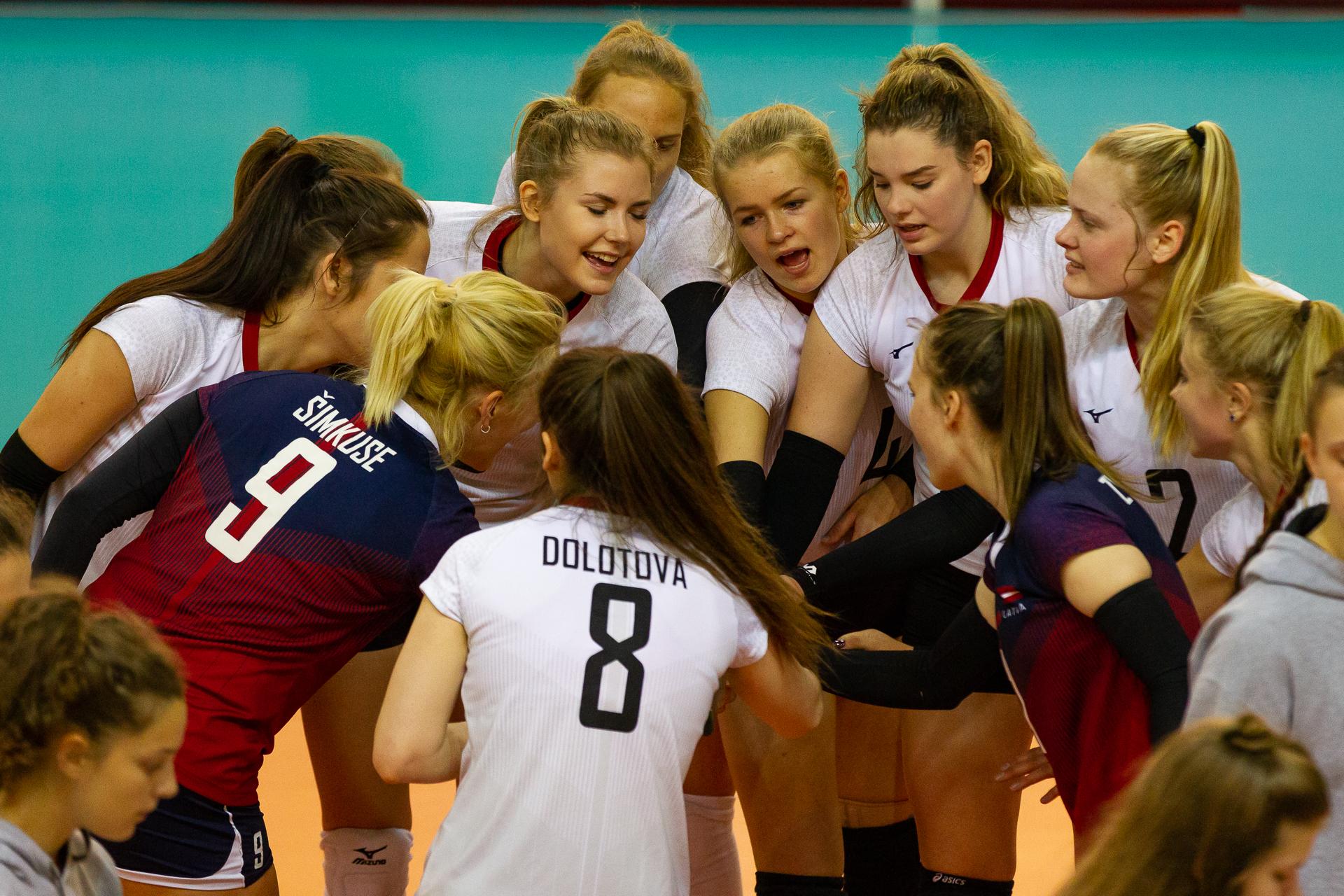 Volejbolisti Eiropas Sudraba līgas spēles aizvadīs Liepājā un Daugavpilī