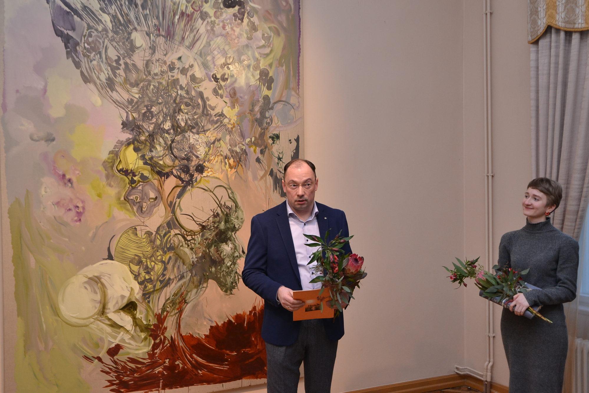 Ātrums un spirāle Vlada Kuļkova gleznās