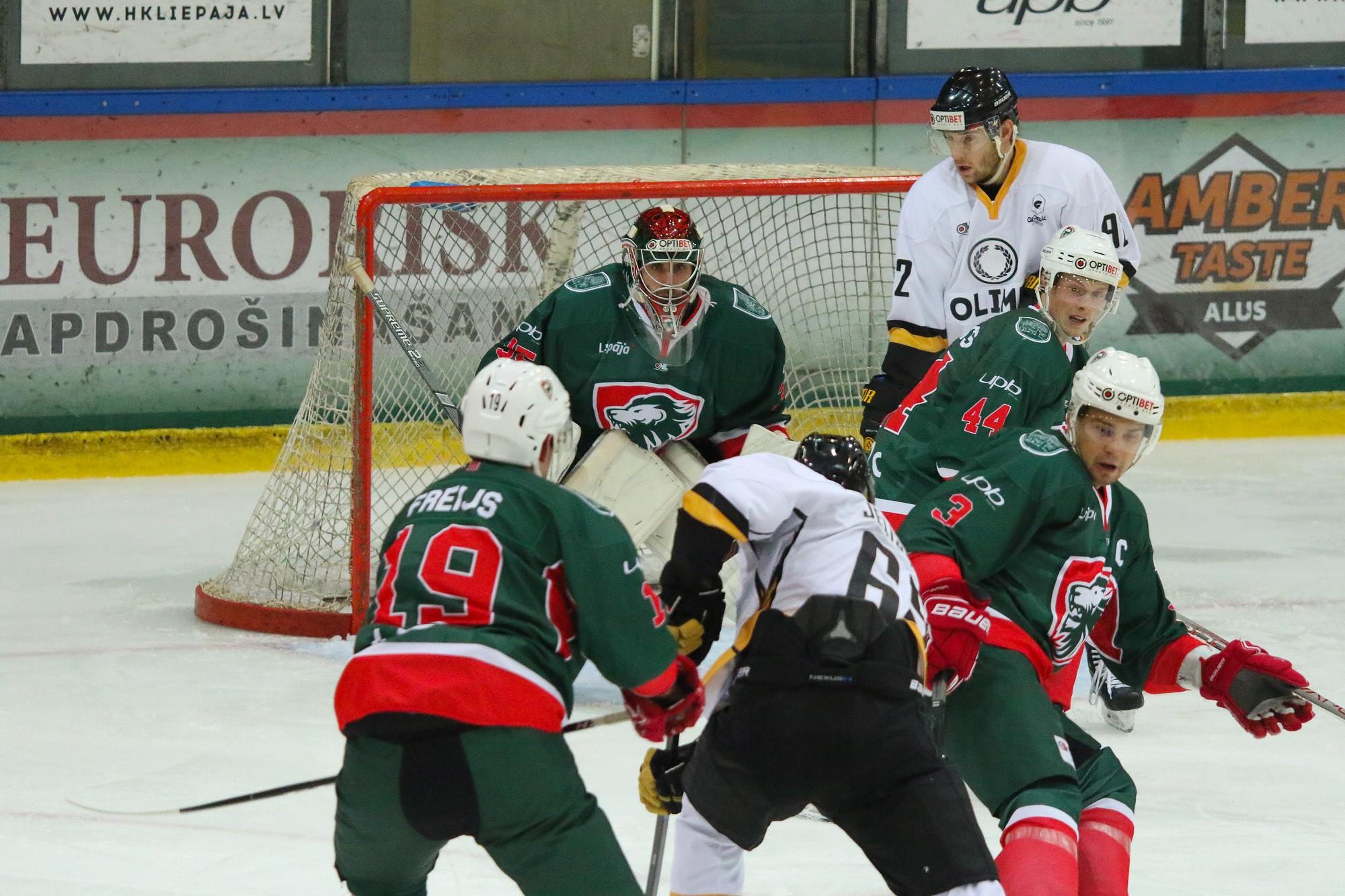 """LHF valde atzīst """"Olimp"""" par OHL regulārā čempionāta uzvarētāju"""