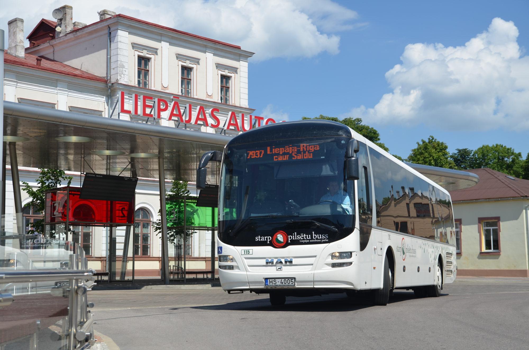 No 27.marta tiks ierobežots pasažieru skaits vienā autobusā reģionālajos maršrutos