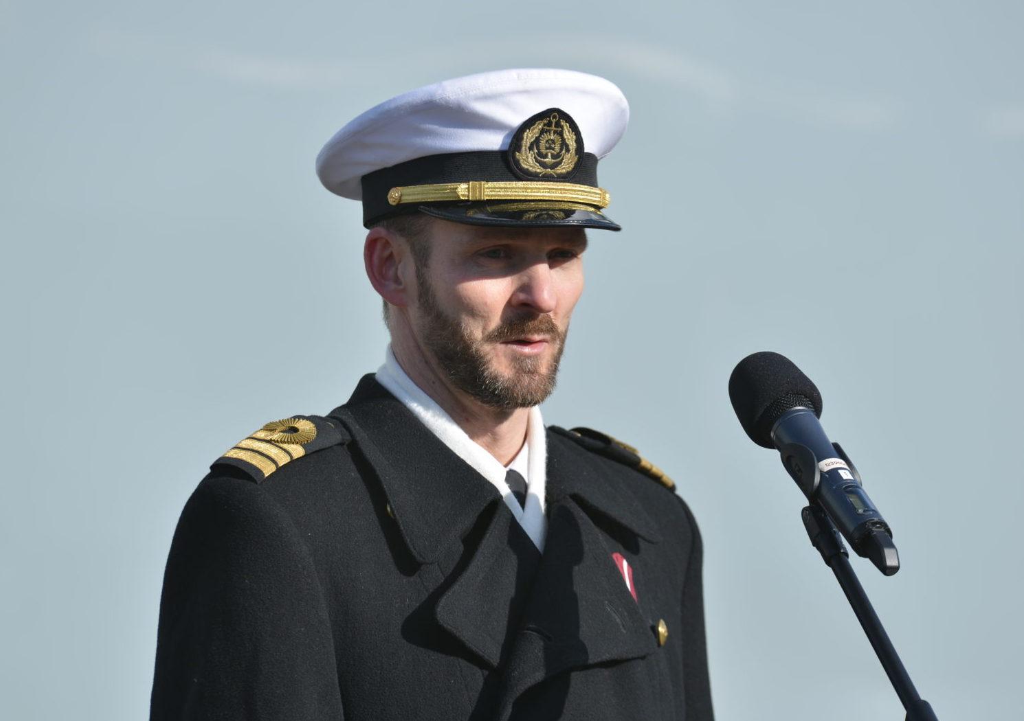 Eskadrai jauns komandieris – Armands Grebežs