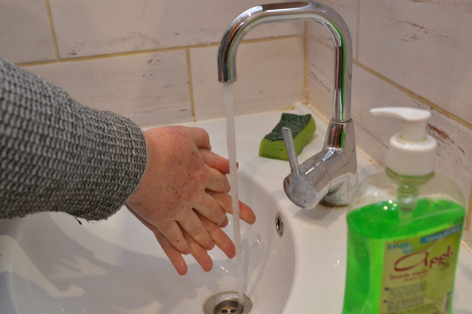 Rokas mazgā pareizi!