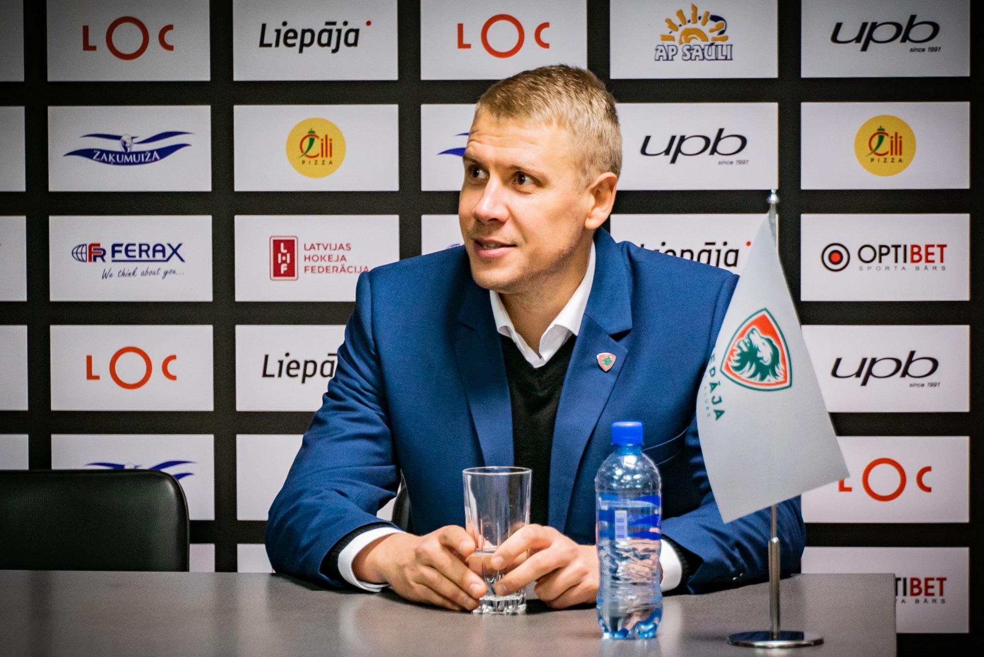 Maksims Bogdanovs: Nākamsezon spersim vēl vienu soli uz priekšu