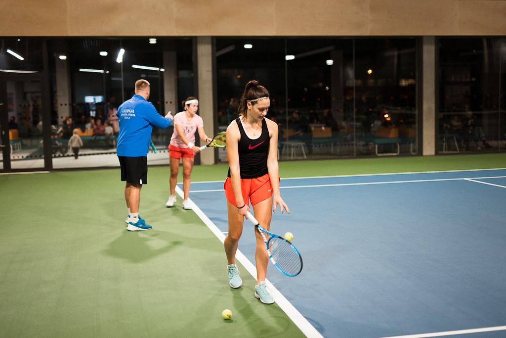 Liepājas Tenisa sporta skolā tiek atsāktas nodarbības ar ierobežojumiem