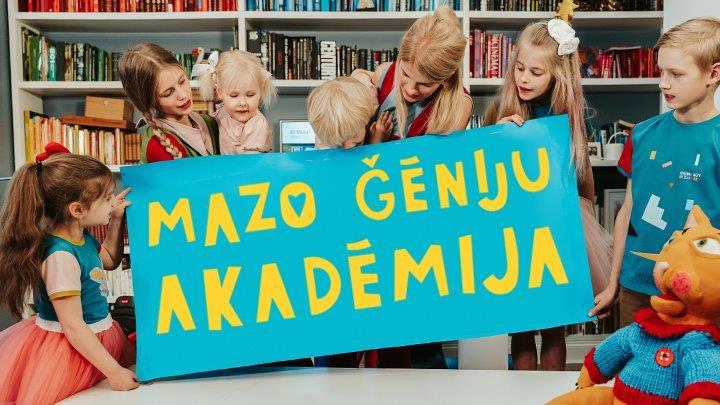 """Jaunā raidījumā """"Mazo ģēniju akadēmija"""" bērnus iepazīstinās ar dizainu"""