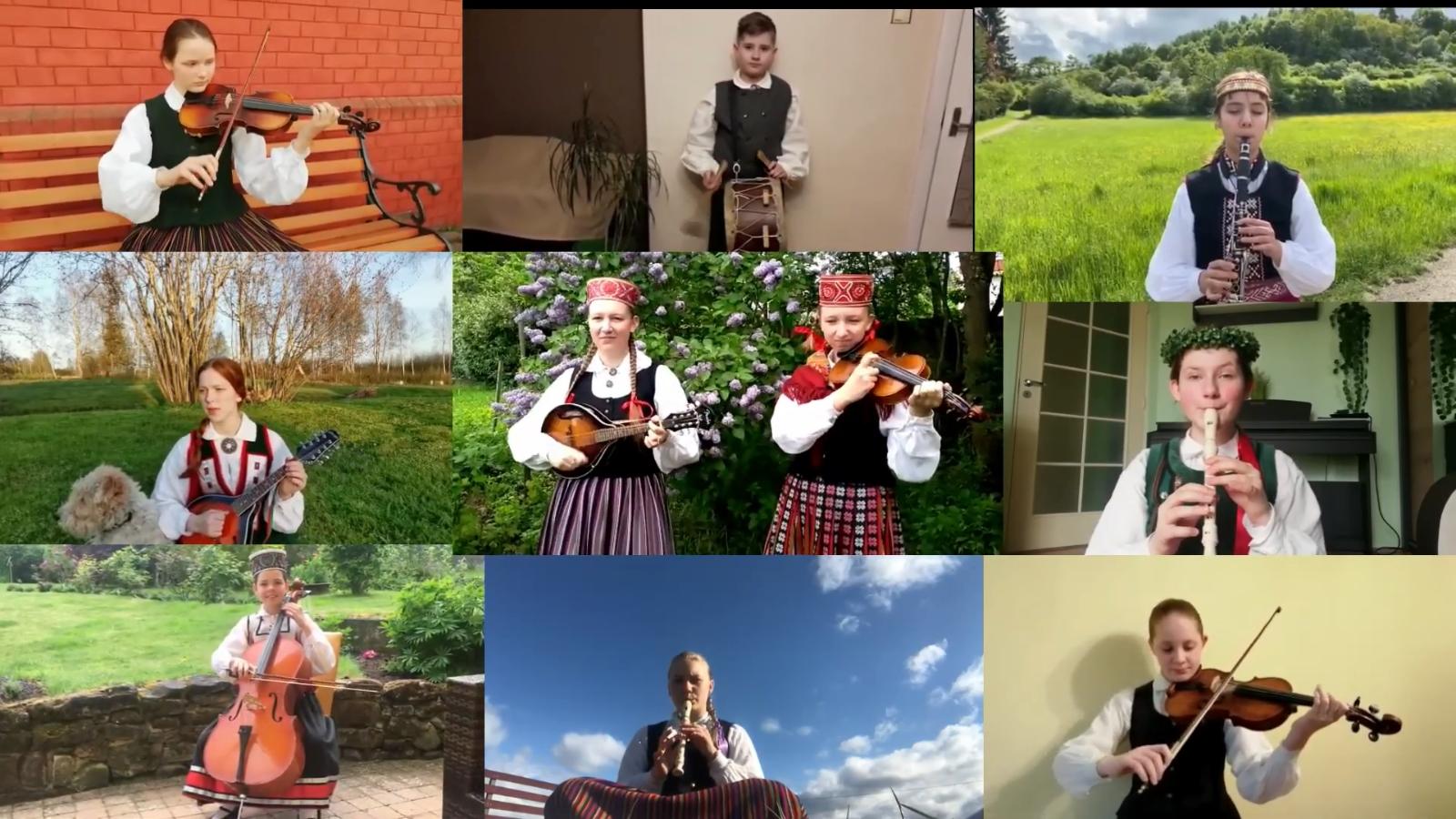 Dienas prieks: Meistaru dziesma Liepājas un Luksemburgas koru izpildījumā