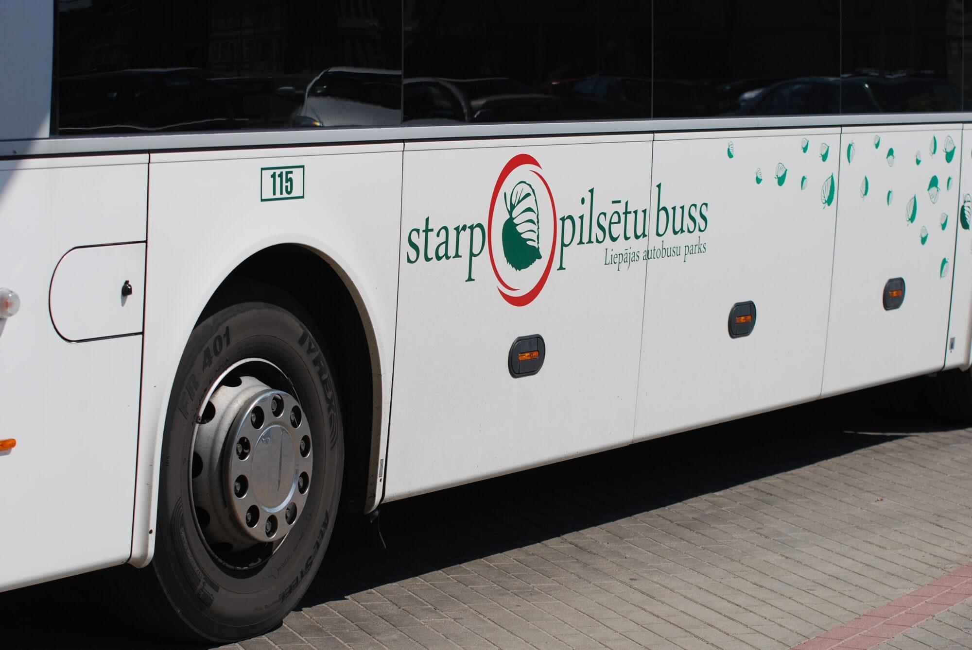 """""""Liepājas autobusu parks"""" cīnās par tirgu"""