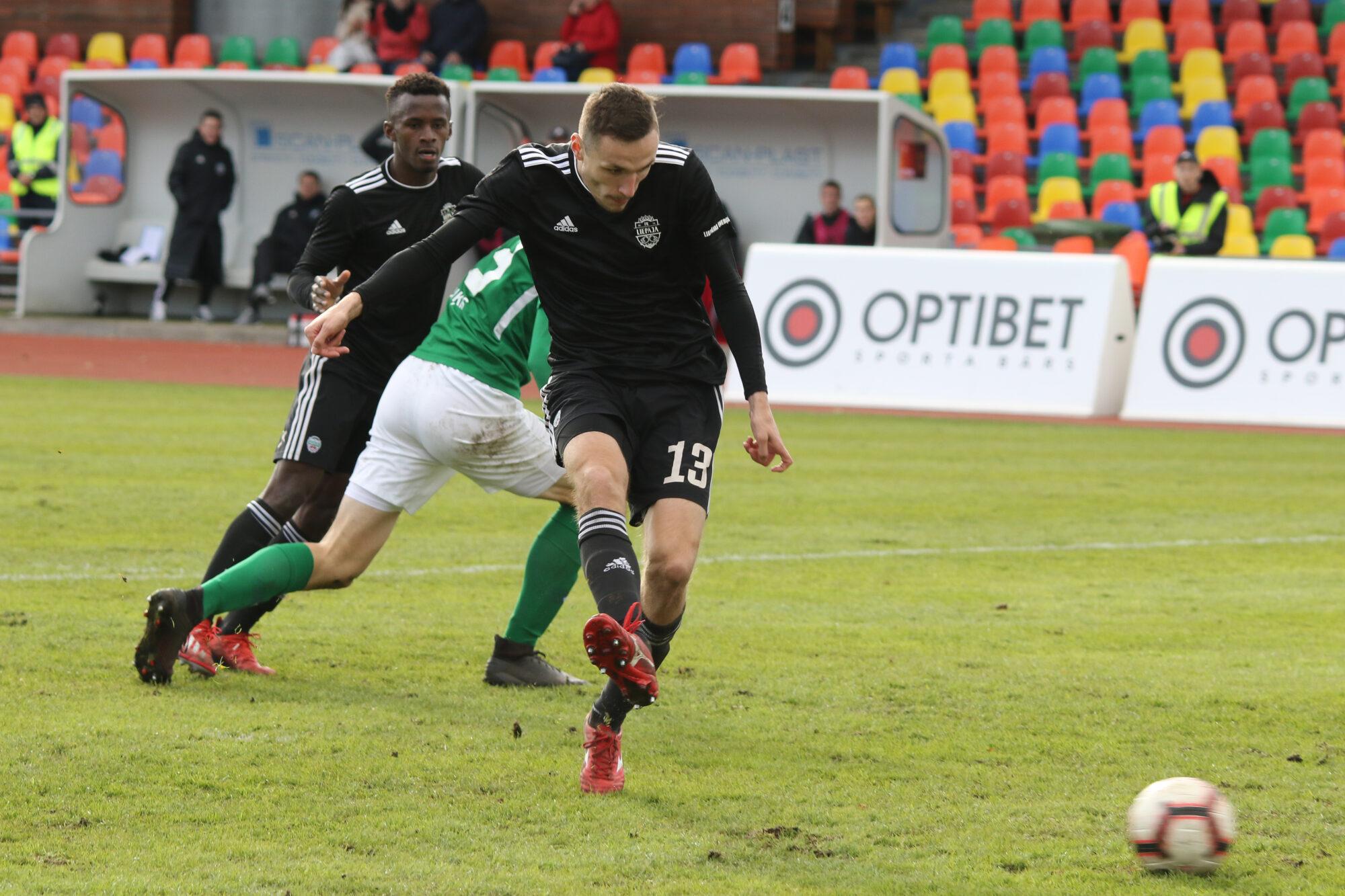 """FK """"Liepāja"""" beidzot pirmā spēle – pārbaudes mačs Lietuvā"""