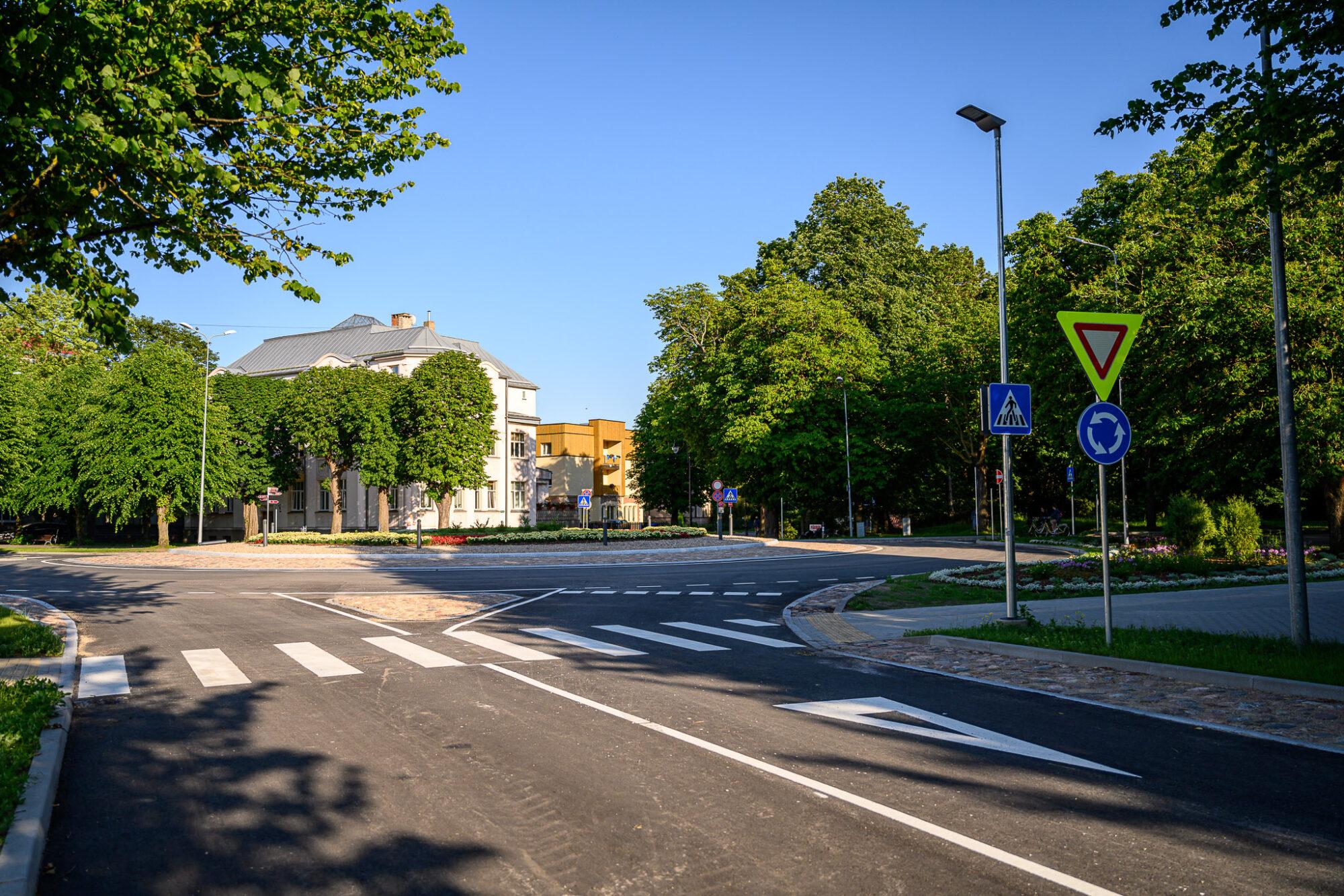 Transporta kustībai sestdien atvērs Peldu ielas posmu