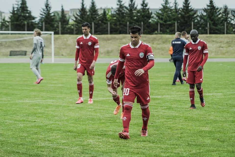 """""""Liepājas"""" futbolisti no Covid-19 tīri"""