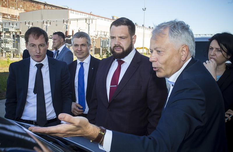 """Ekonomikas ministrs """"Metalurga"""" teritoriju nākotnē vēlas redzēt videi draudzīgu"""