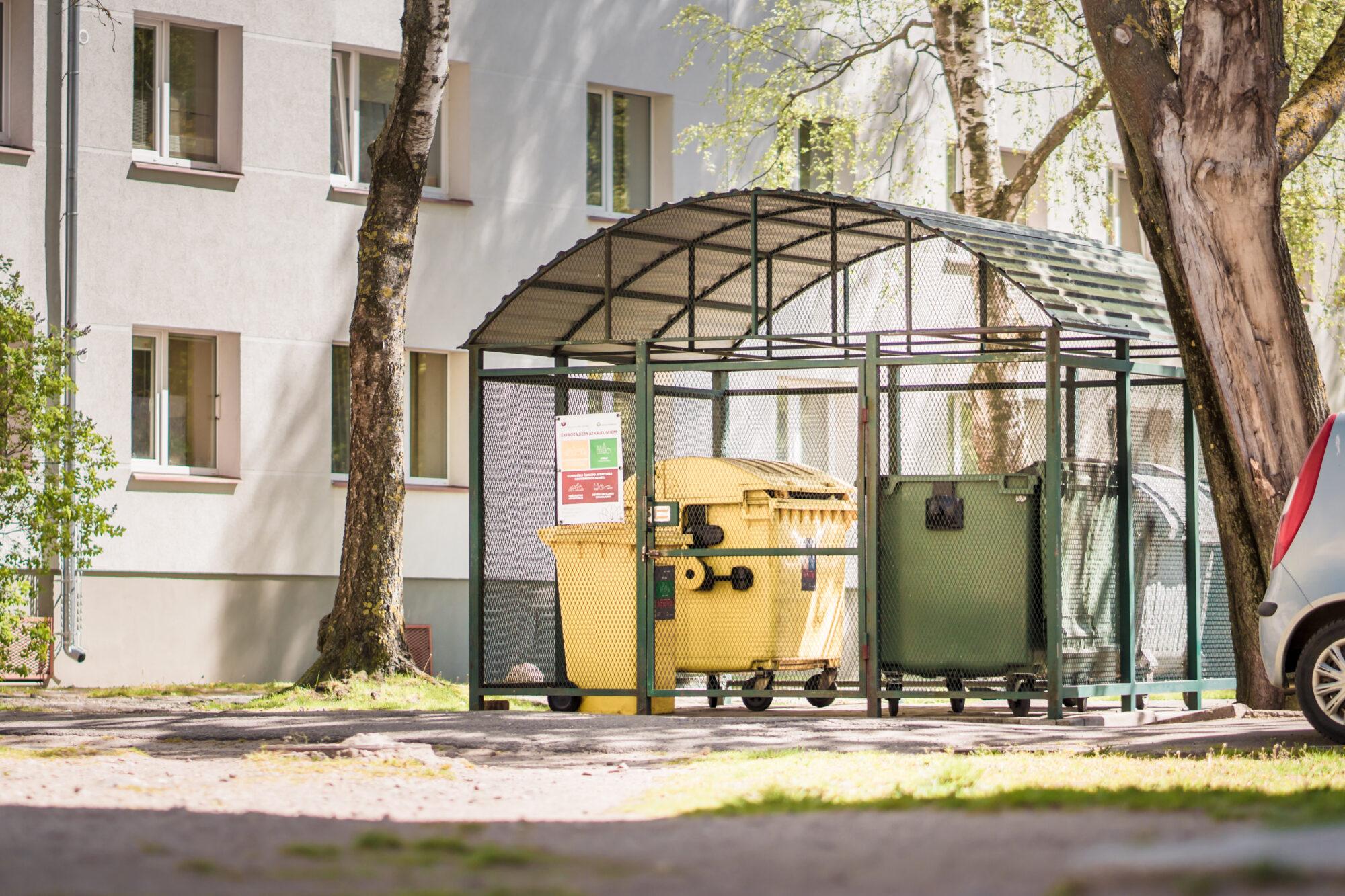 Var pieteikties pašvaldības līdzfinansējumam atkritumu sētiņu izveidei