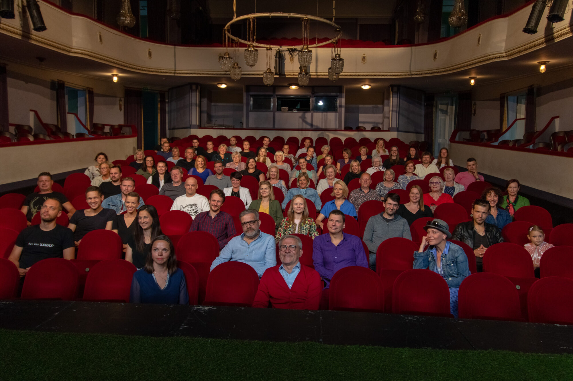 Liepājas teātris gaida skatītājus, nevis biļetes