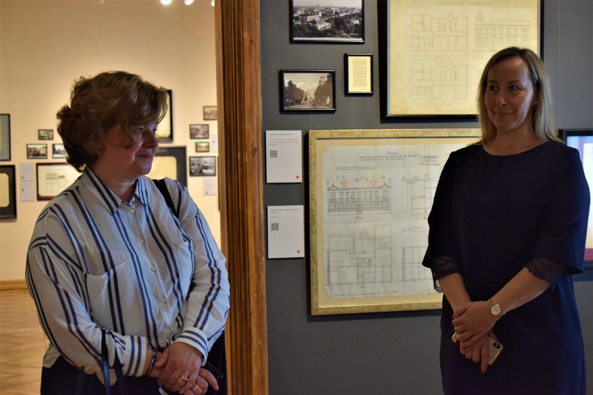 Liepājas muzejā viesojas Latvijas Republikas ārkārtējā un pilnvarotā vēstniece Spānijas Karalistē