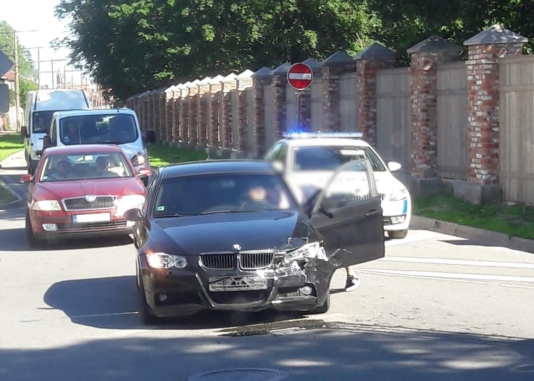 Avārija Klaipēdas un Ūliha ielas krustojumā