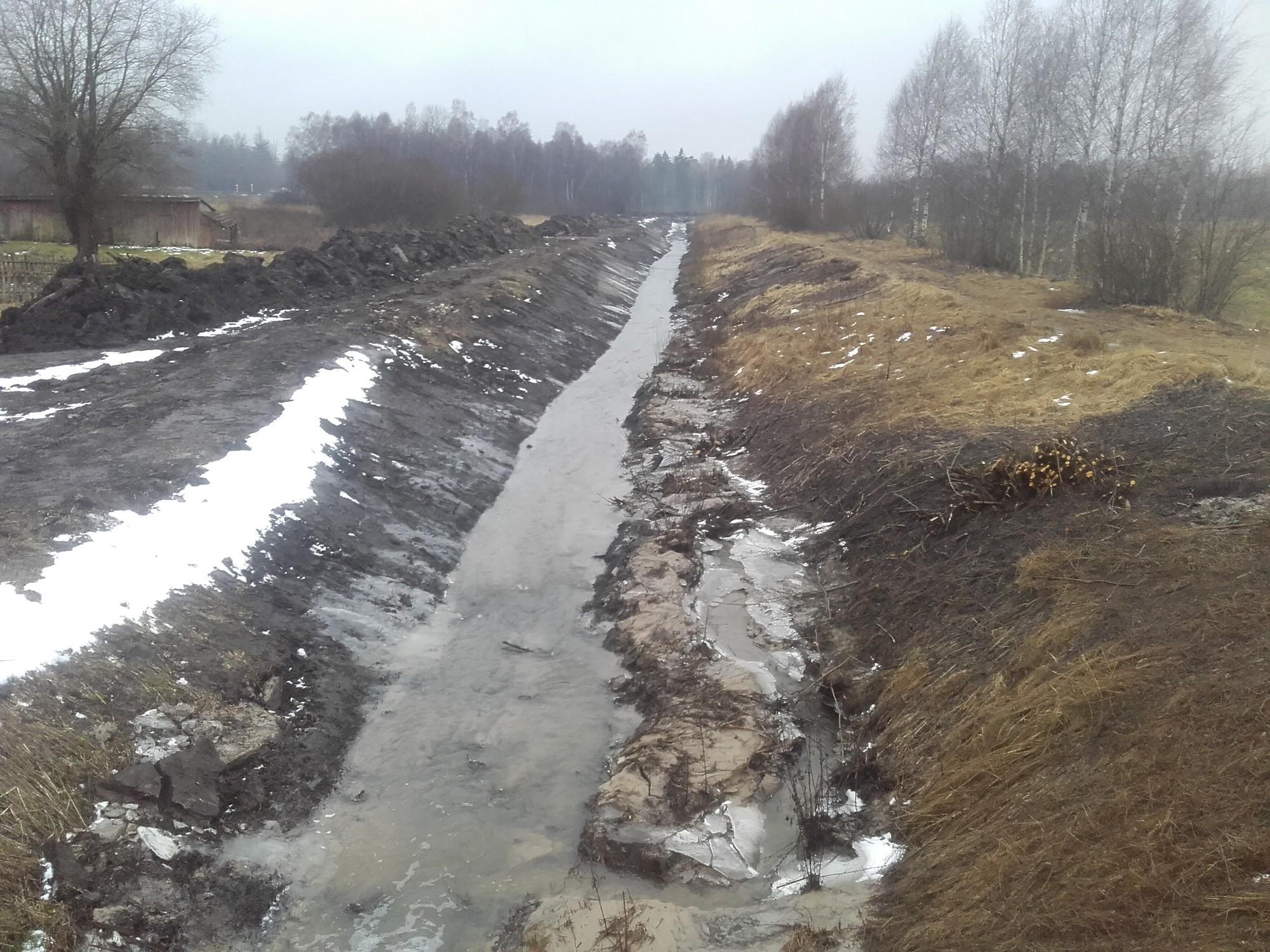 Toseles ūdensnotekas atjaunošanā ieguldīti 1,5 miljoni eiro