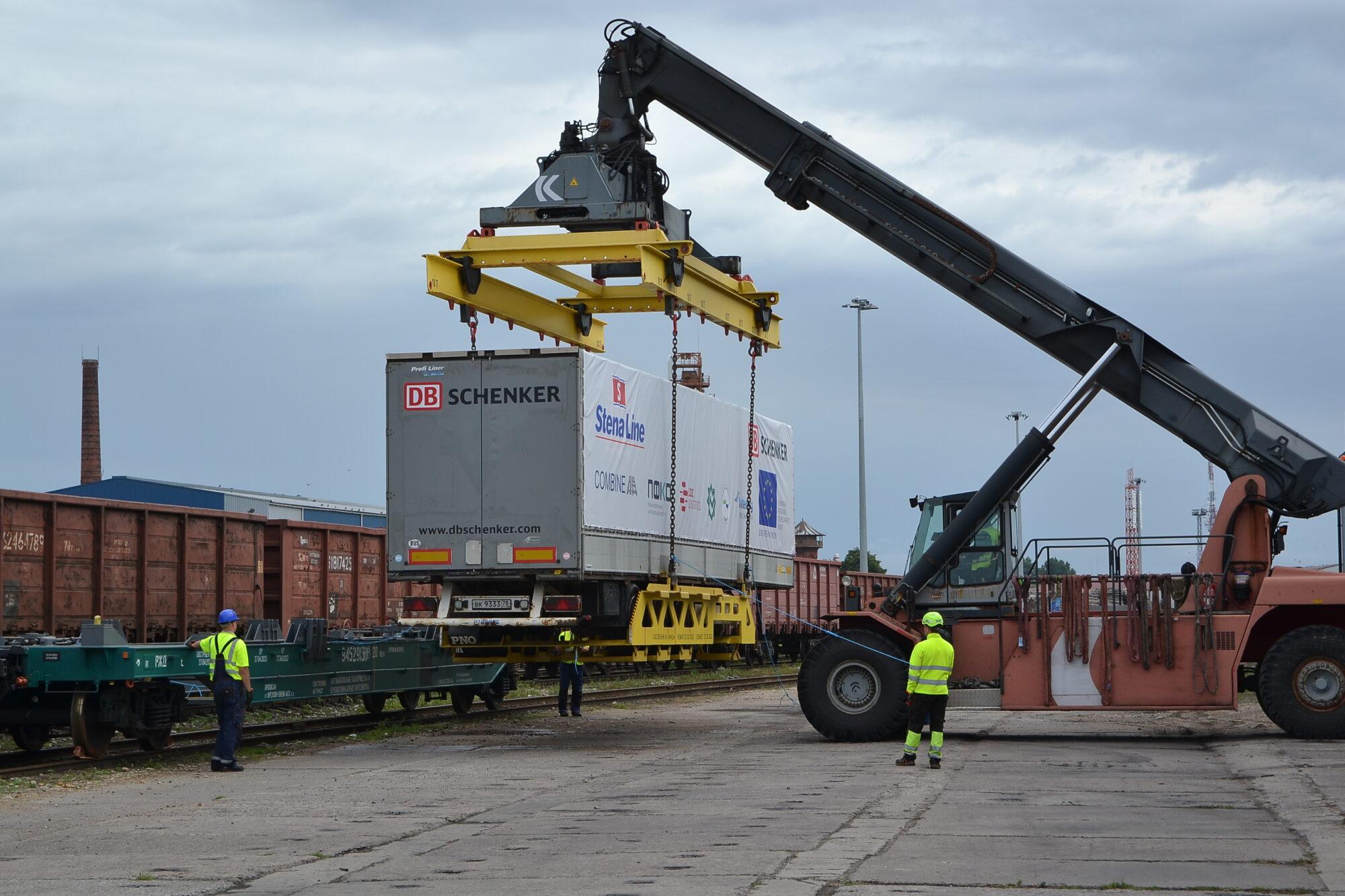 Testē jaunu veidu kravu transportēšanai