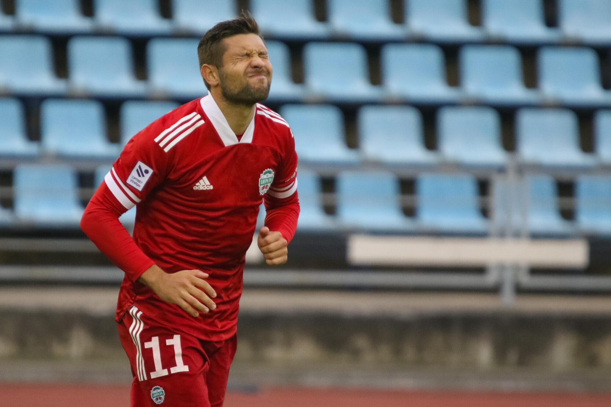 """FK """"Liepāja"""" savā laukumā uzvar Jūrmalas """"Spartaku"""""""