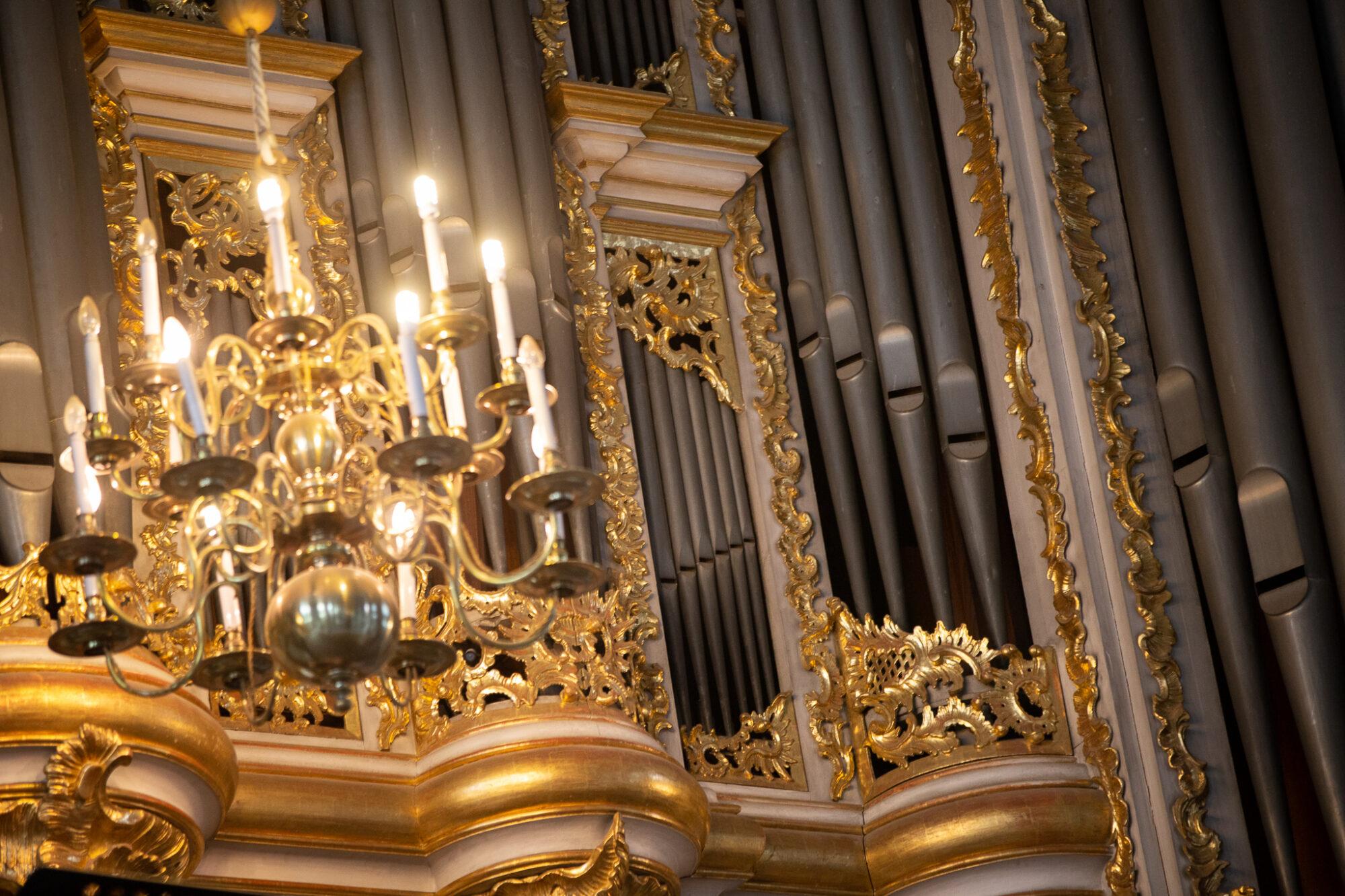 Foto: Ieskats Liepājas ērģeļmūzikas festivāla pirmajos koncertos