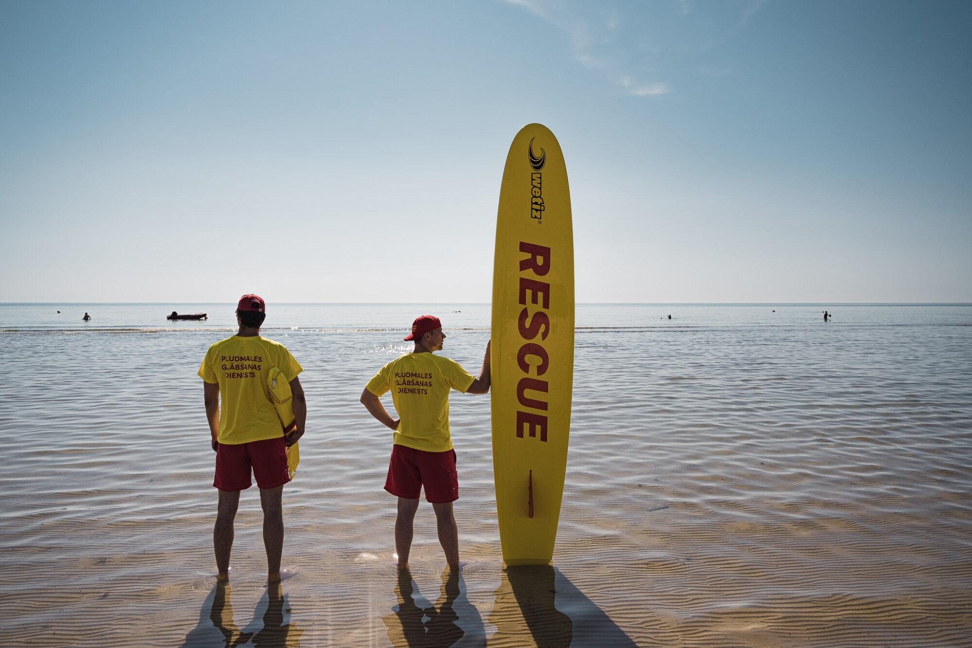 Noslēgsies šīs vasaras sezona Liepājas pludmalē