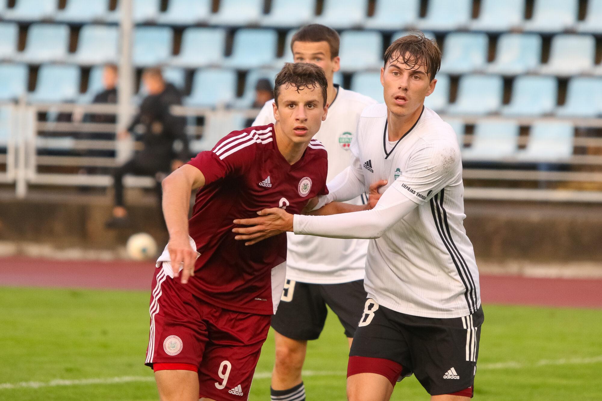 """FK """"Liepāja"""" pārbaudes spēlē ar 2:0 pieveica Latvijas U19 izlasi"""