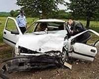 Policists izraisa avāriju