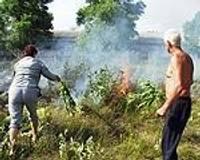 Bērni izraisa ugunsgrēku