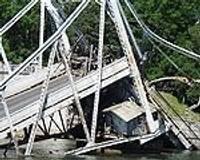 Izmeklēšanas dēļ kavējas tilta atjaunošana