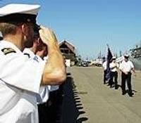 Kara flotes 87.gadadienā sumina labākos jūrniekus
