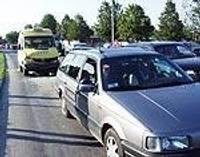 Papildināts! Mikroautobusi izraisa sadursmes