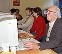 Lauku speciālisti izzina datoriespējas