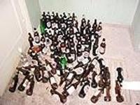 Kriminālsods par alkohola nelikumīgu glabāšanu
