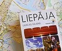 Izdota Liepājas un Liepājas rajona karte piecās valodās