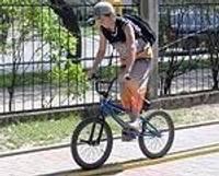 Konkursa laikā tiek pie riteņbraucēja apliecībām
