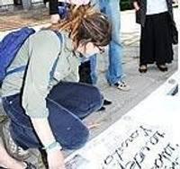 Starptautiskās konferences laikā protestē vides aktīvisti
