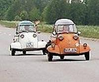 Motomašīnītēs apceļo Austrumeiropu
