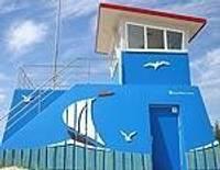 Dienvidrietumu pludmalē uzstādīts Glābšanas dienesta novērošanas tornis