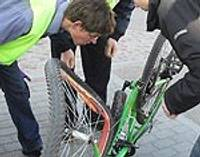 Notriec velosipēdistu
