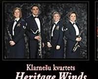 """Koncertēs ASV Gaisa spēku orķestra džeza sekstets """"Wings of Dixie"""" un klarnešu kvartets """"Heritage Winds"""""""