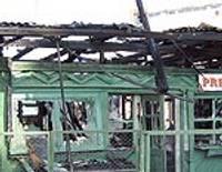 Tirgotājiem ugunsgrēks Pēteritrgū sagādājis šoku