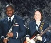 ASV Gaisa Spēki Eiropā iepazīstina ar Amerikas mūziku