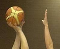 Basketbola paraugstunda skolēniem