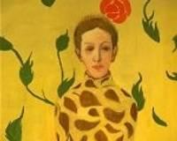 Gleznotājs Kristaps Zariņš uz Liepāju atved savu sievu 2 x 3 m formātā