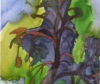 Vasaras izjūtas akvareļos