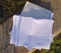 Ar roku rakstīta vēstule spēj sagādāt svētkus ikdienā
