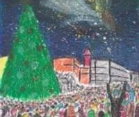 """Ziemassvētku apsveikuma zīmējumu konkursa noslēgums notiks kino """"Balle"""""""